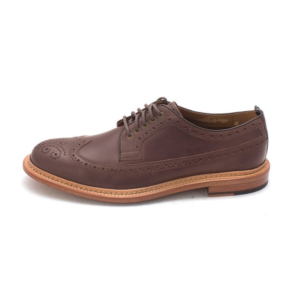 Cole Haan Mens Jendriksam Leather Lace Up Dress Oxfords - 8.5