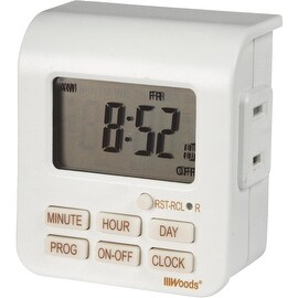 Woods 7 Day Indr Digital Timer