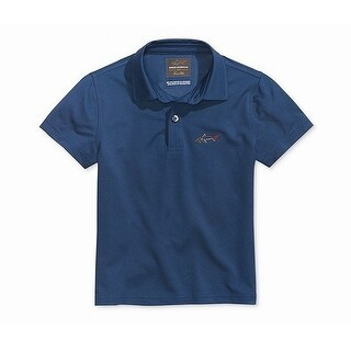 Greg Norman Boys Socket Medium Daddy And Me Golf Polo Shirt