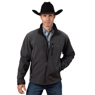 Roper Jacket Mens Zipper Water Wind Resistant 03-097-0780-0721 GY
