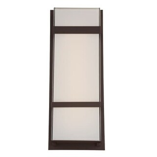 Modern Forms WS-W1621 Phantom 1 Light LED ADA Compliant Outdoor Wall Sconce - 8 Inches Wide