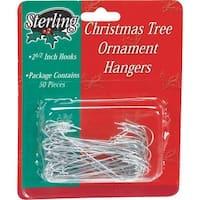 Sterling 50Pk Jumbo Ornament Hook