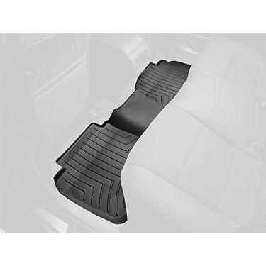 WeatherTech Custom Fit Rear FloorLiner for Kia Soul (Black) - Black