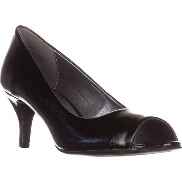 Karen Scott Mory Peep Toe Pump Heels, Black