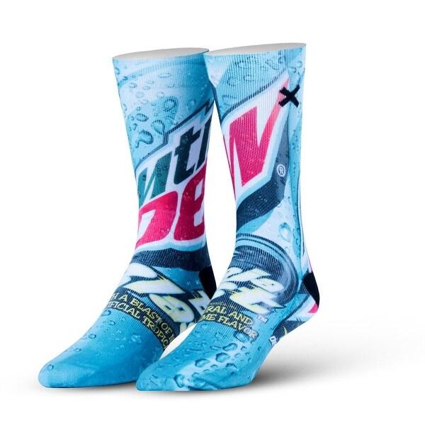 Mountain Dew Baja Blast Socks, 6-13