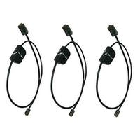 Plantronics Telephone Cable Savi 86009-01 (3-Pack) Interface Cable