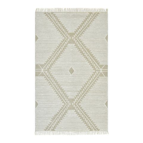 Tate Bohemian Tribal Hand Woven Area Rug