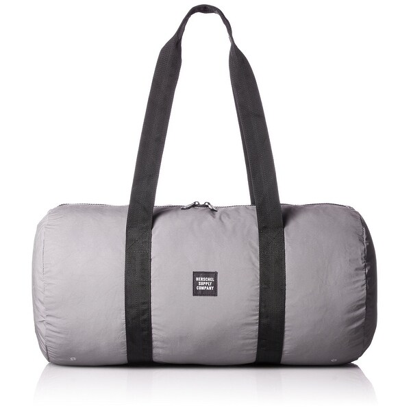 Herschel Supply Co. NEW Gray Men One Size Packable Reflective Duffle Bag 519f4c19f3fe2