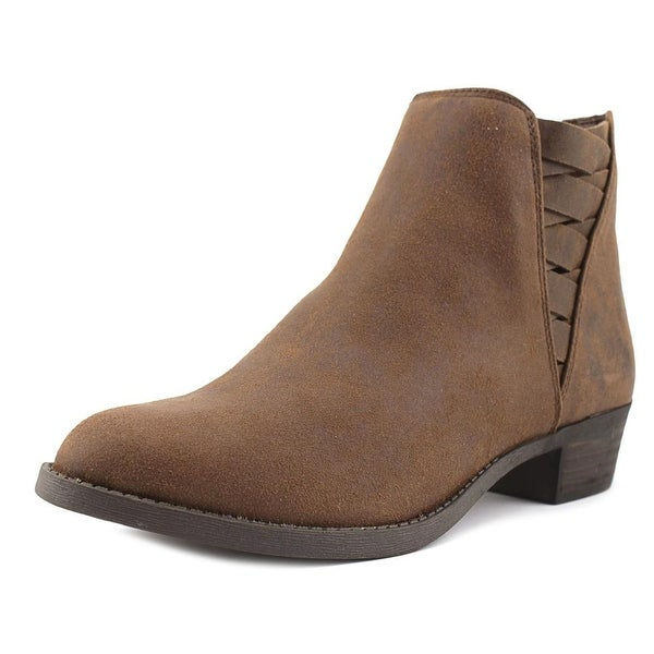 Carlos by Carlos Santana Bert Women Round Toe Canvas Bootie