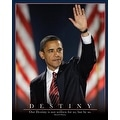 ''Barack Obama: Destiny'' by Anon African American Art Print (20 x 16 in.) - Thumbnail 0