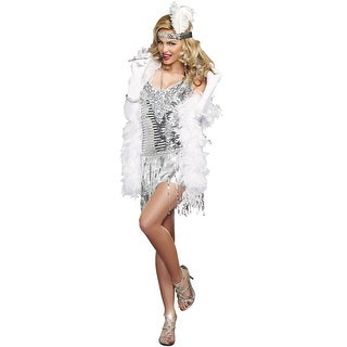 Dreamgirl Life's a Party Adult Costume - Silver