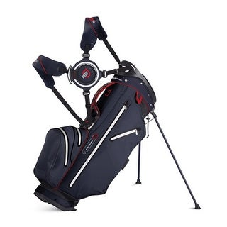 New Sun Mountain H2NO Lite 14-Way Stand Bag - Black / Navy / Red - CLOSEOUT - black / navy / red