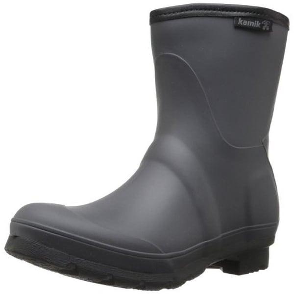 Kamik Womens Jenny Lo Rain Boots Rubber Waterproof