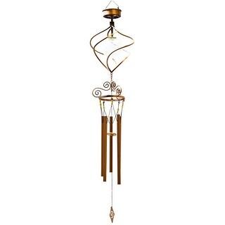 Headwind Consumer 830-1317 Solar Powered Spiral Wind Chime