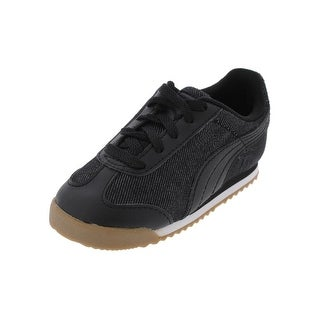 Puma Boys Roma Denim Athletic Shoes Low Top Running