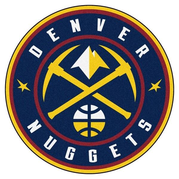Denver Nuggets Basketball Reference: Shop NBA Denver Nuggets Rounded Non-Skid Mat Area Rug
