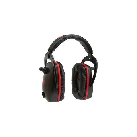 Ruger Shooting Earmuffs Conix Electronic Padded Black Orchid - Black Orchid