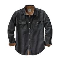 Legendary Whitetails Mens Canyon Ridge Corduroy Shirt