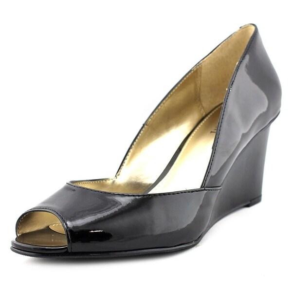 Alfani Kendol Open Toe Synthetic Wedge Heel