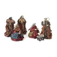 "12-Piece Holy Family & 3 Wise Men Jesus Christmas Nativity Set 3"" - 13"""