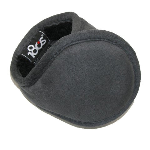 180s Men's Faux Suede Wrap Around Earmuffs - One size