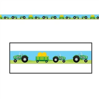 Tractor Party Caution Tape