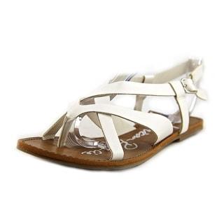 American Rag Logan Women Open-Toe Synthetic White Slingback Sandal