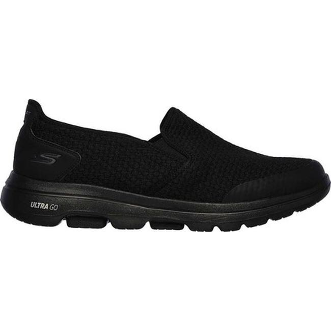 Skechers Men's GOwalk 5 Apprize Slip On BlackBlack