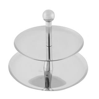 Weeding Party Utensil Stainless Steel 2 Tier Cake Biscuit Fruit Plate Stand|https://ak1.ostkcdn.com/images/products/is/images/direct/84132ae6b4a3d2824bf4174bd56636c65090b7d7/Weeding-Party-Utensil-Stainless-Steel-2-Tier-Cake-Biscuit-Fruit-Plate-Stand.jpg?impolicy=medium