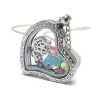 Heart Charm Locket for I love Police and Sheriff