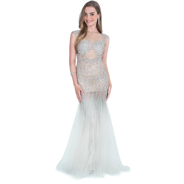 Terani Couture Prom Embellished Evening Dress