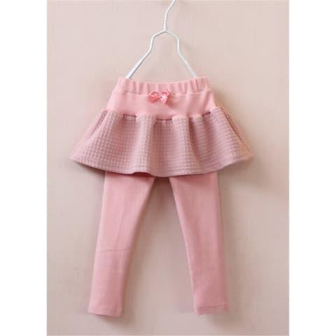 New Fashion Girls Autumn Skirt Pants Kids Cotton Sweet Pantskirt Children Brand Skinny Leggings