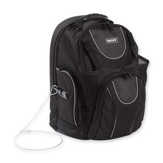 Vaultz Locking Backpack - Black Backpack
