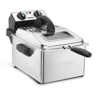 Cuisinart CDF-200 Deep Fryer, 4 quart, Stainless Steel
