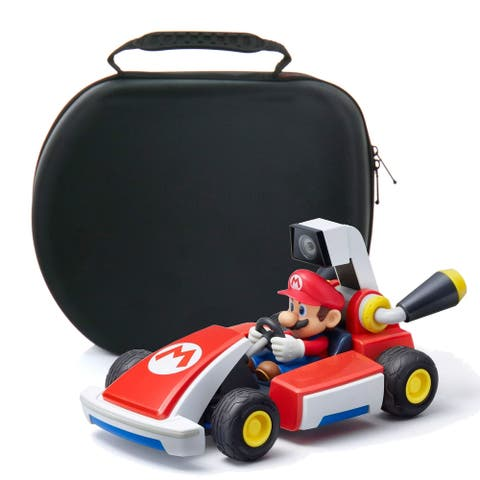 Mario Kart Live Mario Themed with Carry Case. - Red