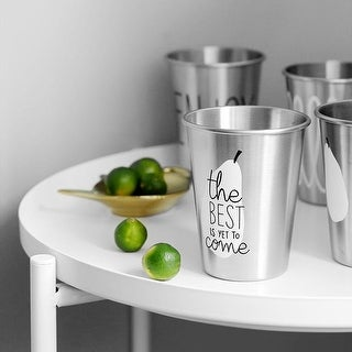 G Home Collection Summer Stainless Cup Randomly Picked Set of 2