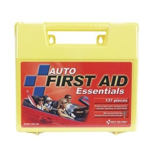 First Aid Only FA0-340 Auto First Aid Kit 137 Pieces