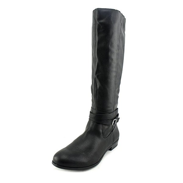 Style & Co. Womens Fridaa Wide Calf Closed Toe Mid-Calf Riding Boots