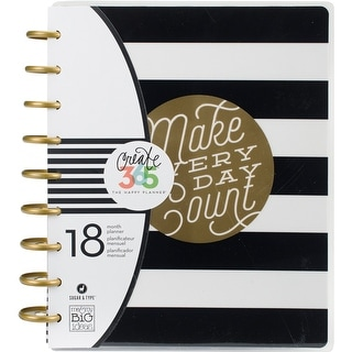 "Create 365 18-Month Planner 7.75""X9.75""-Make Everyday Count"