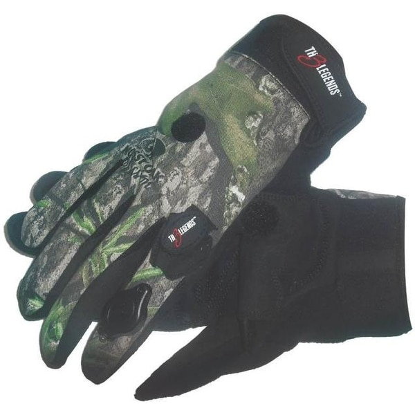 TH3 Legends SWX00151 Camouflage Gloves with LED Lights