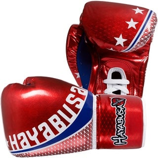 Hayabusa Professional Muay Thai Lace Up Gloves - Red - thai boxing mma sparring
