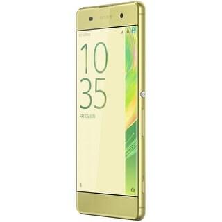 Sony Xperia XA Unlocked Smartphone -16GB, Lime Gold, 4G LTE GSM (USA Warranty) - F3113