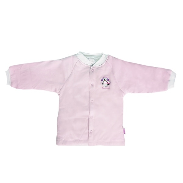 Bamboo Cotton newborn Infant baby Bodysuits climbing clothes Top pink