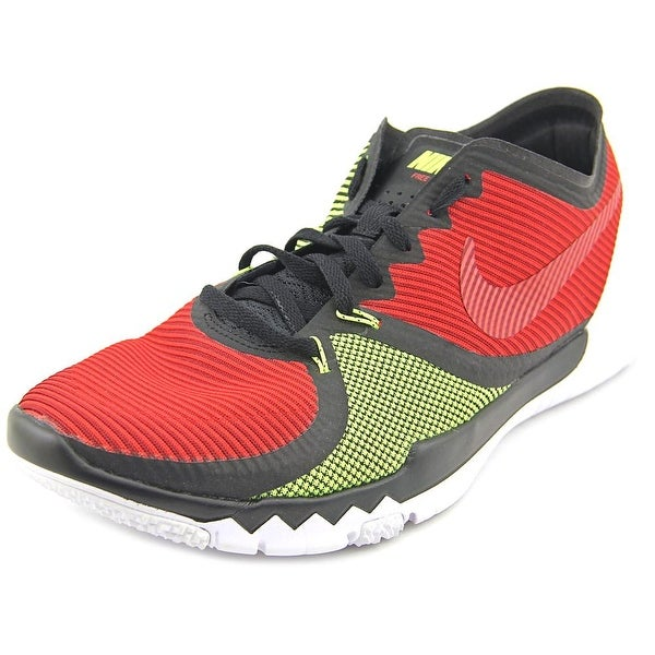 Shop Nike Free Trainer 3.0 V4 Men Round Toe Synthetic Red