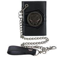 Marvel Men's Black Panther Chain Wallet - One size