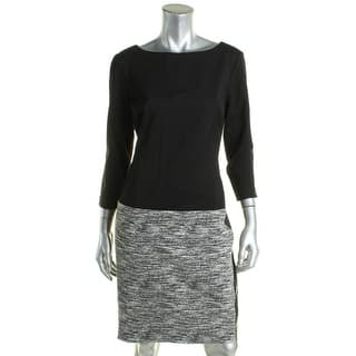 Lauren Ralph Lauren Womens Vasha Wear to Work Dress Faux Leather Knit|https://ak1.ostkcdn.com/images/products/is/images/direct/8422d13ae8e4010b3b0b206dba52538de8cc6fd4/Lauren-Ralph-Lauren-Womens-Vasha-Wear-to-Work-Dress-Faux-Leather-Knit.jpg?impolicy=medium