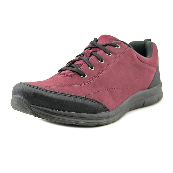 Easy Spirit Solana Women W Round Toe Synthetic Burgundy Sneakers