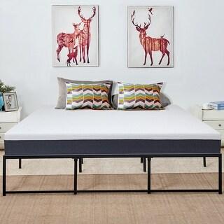 VECELO Metal Kids Beds 14 Inch Platform Beds Frames Mutiple Sizes