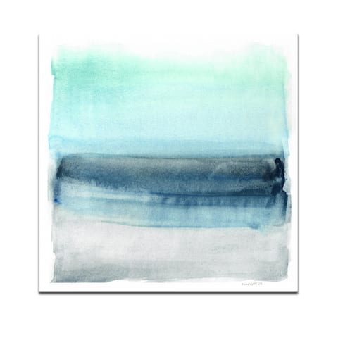 'Linear Energy I' Wrapped Canvas Wall Art by Norman Wyatt Jr.