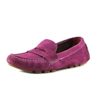 Cole Haan Air Sadie Driver Women Round Toe Leather Loafer